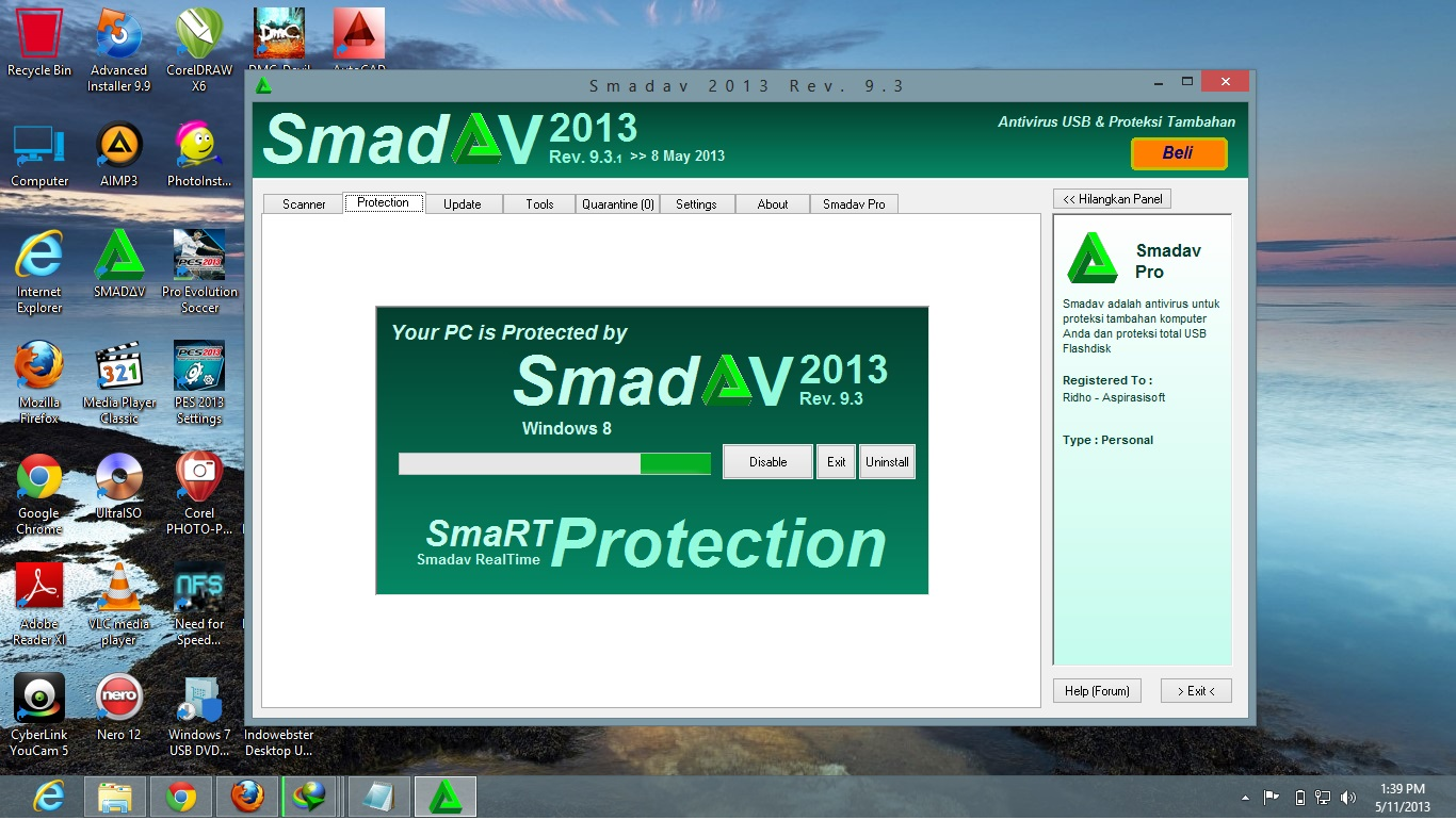 smadav93 berhasil Download Smadav 2013 Rev. 9.3 Pro Full Serial Number