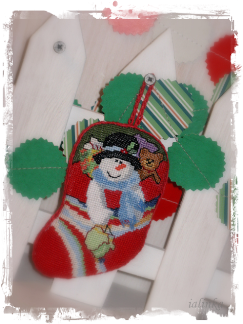 Holiday Stocking  Ornaments  от  Dimensions  designed by Brian  Jackins