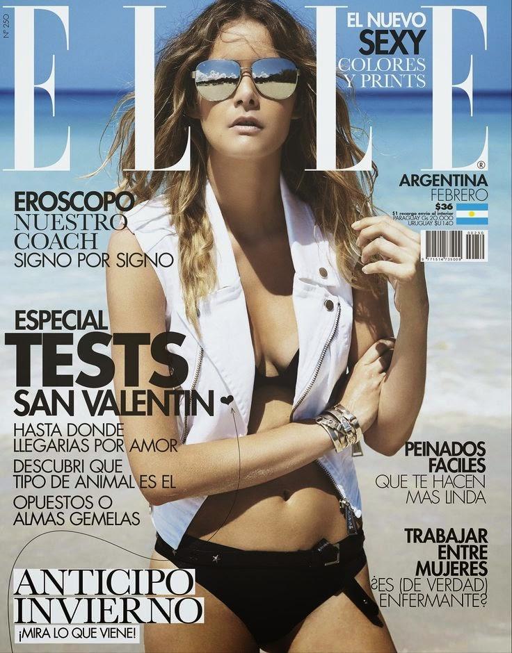 Model: Flavia de Oliveira for Elle Argentina