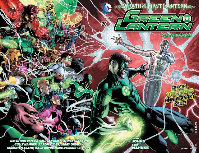 Green Lantern #20 New 52 Comic DC descarga gratis