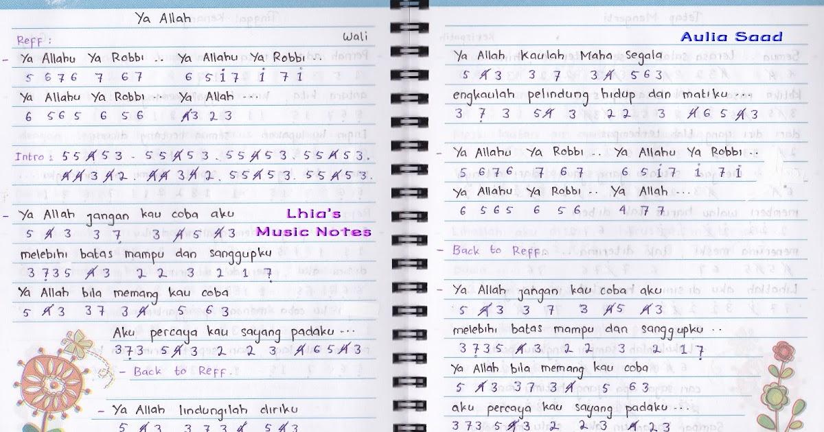 Not Lagu Religi Wali | Service Laptop