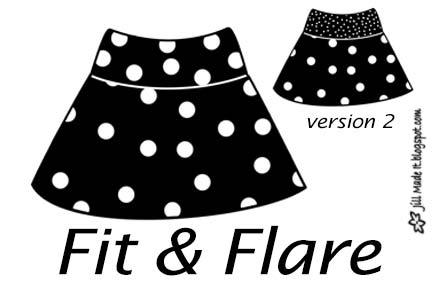 Jill Made It: Design My Own: Wear to the Playground Skirts