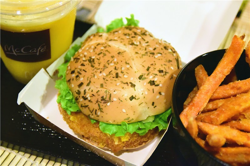 mcdonalds blog singapore ebi kase cereal burger sweet potato fries mango chill