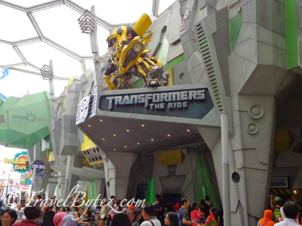 TRANSFORMERS The Ride: The Ultimate 3D Battle)