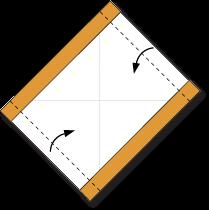 Cara Membuat Origami Wajah Kera