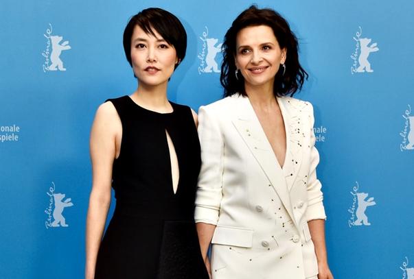 Rinko Kikuchi y Juliette Binoche en la Berlinale