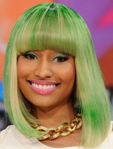 Nicki minaj green hair