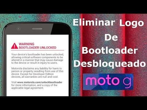 Moto G - Eliminar advertencia al desbloquear el Bootloader Mototool FACIL [MEGA]