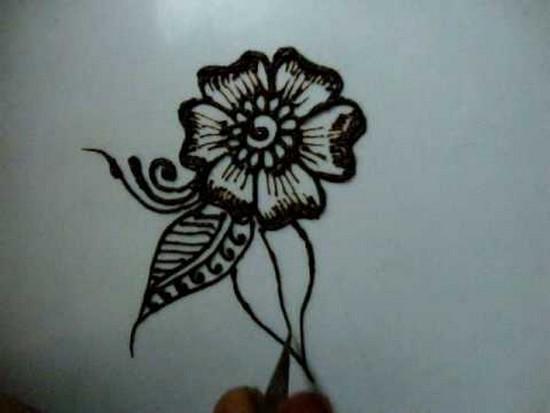Henna Flower Patterns On Paper Tirevi Fontanacountryinn Com