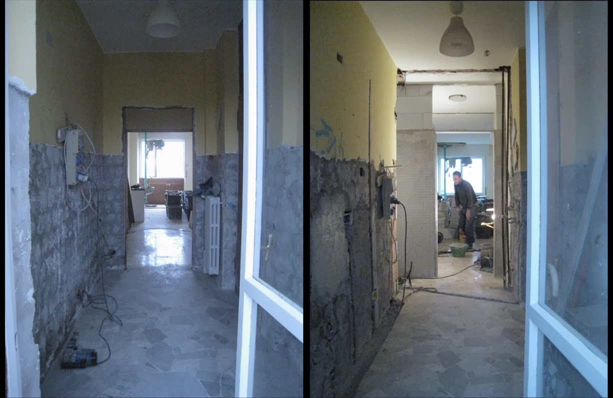 Corridoio Lungo Casa : Lacasapensata