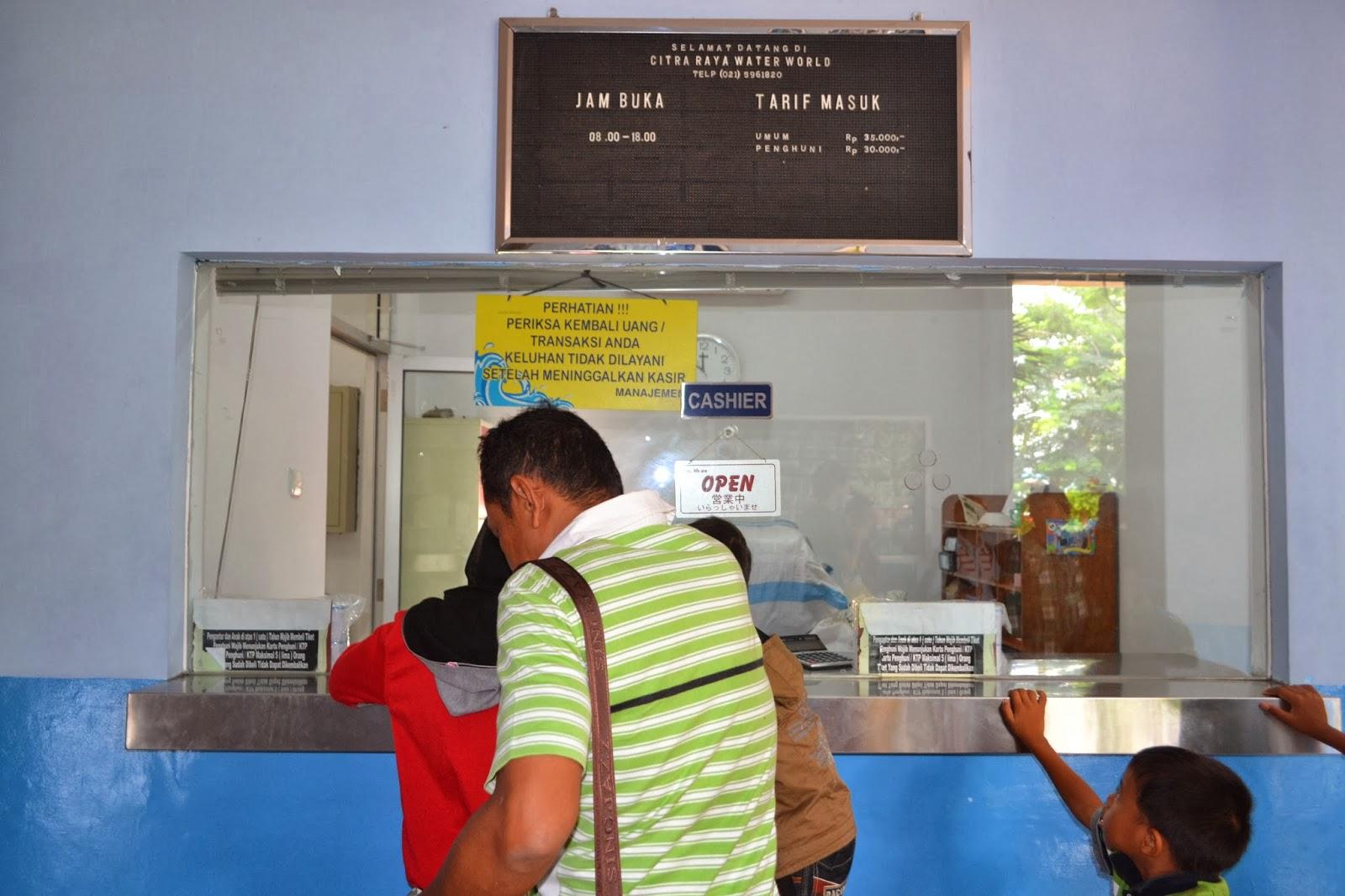 Tiket Citra Raya Water Park