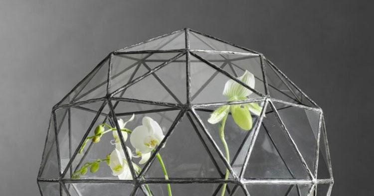 Alquimia deco invernaderos geometricos de cristal - Invernadero de cristal ...