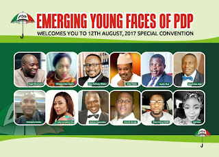 Faces of Emerging Leaders of PDP and their Ideologies