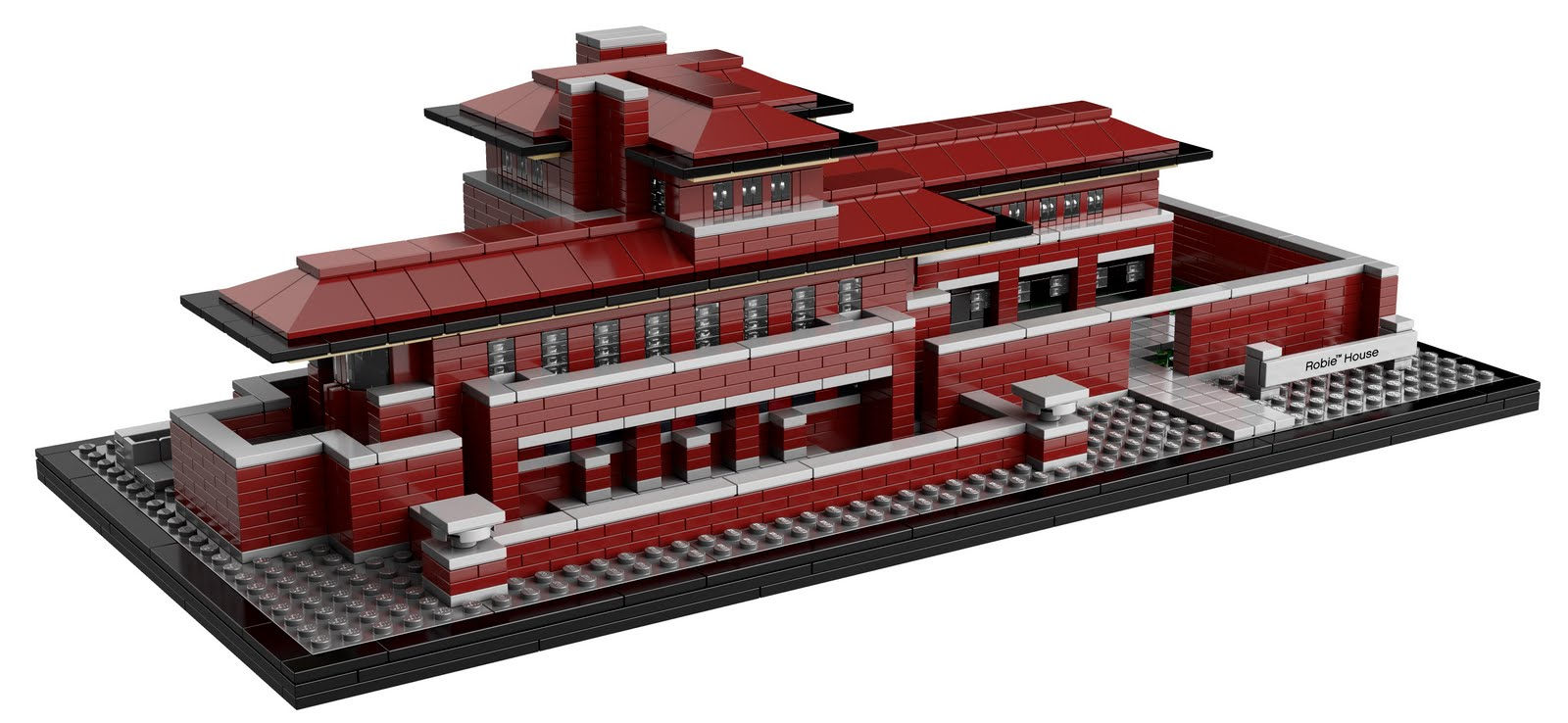 lego gossip 140711 lego 21010 robie house picture. Black Bedroom Furniture Sets. Home Design Ideas