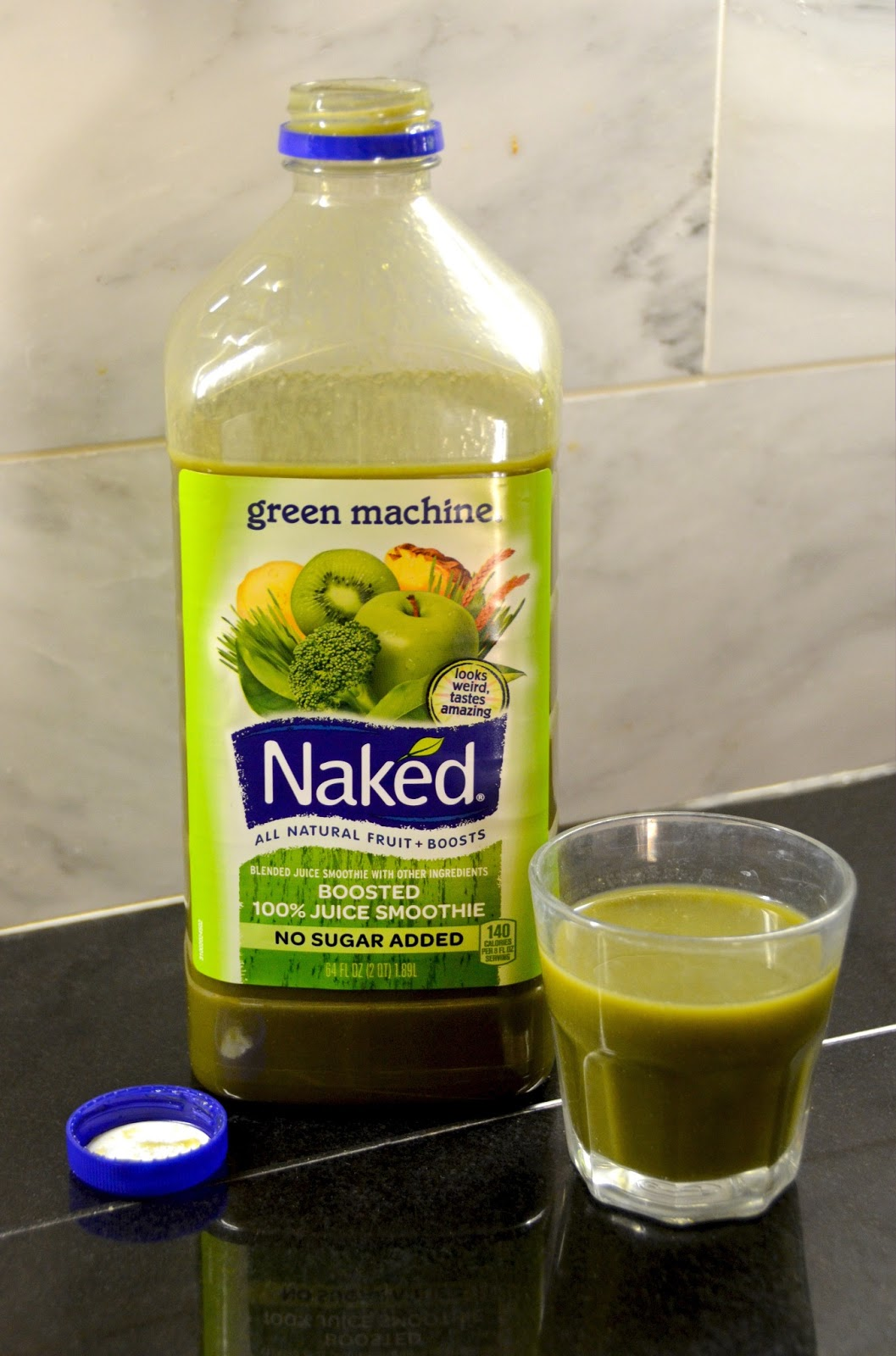 Processed Free and Me: Green Machine Smoothie
