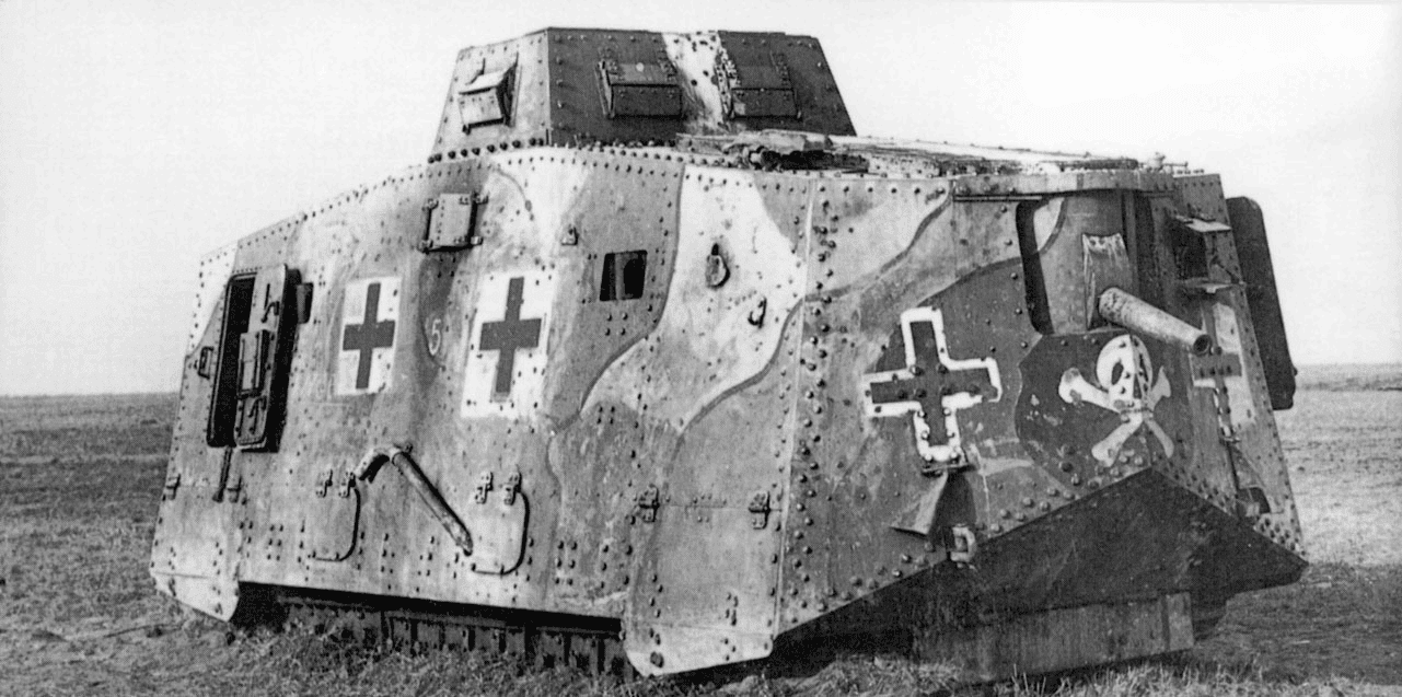 Image result for ww1 german tank