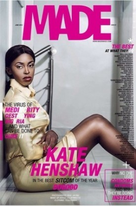 Photos: Kate Henshaw stuns for Made Magazine new issue