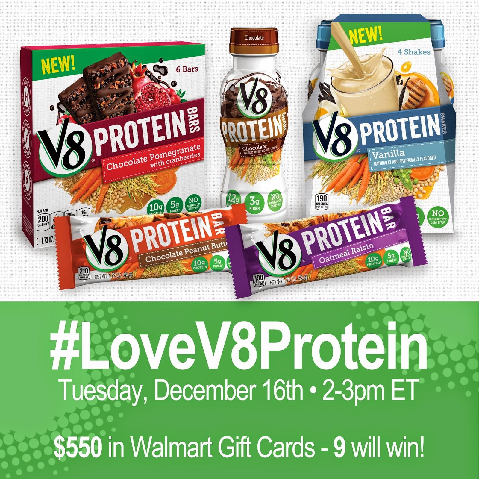 #LoveV8Protein 12-16-14