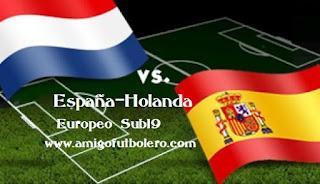 España-holanda, europeosub19