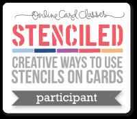 I attended Stenciled online