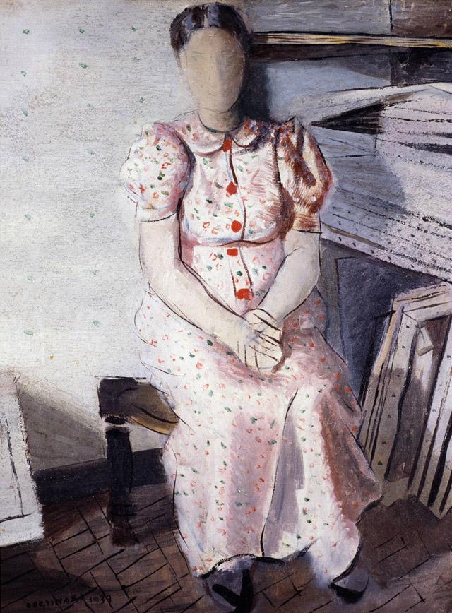 Retrato de Maria Gravida. Candido Portinari.