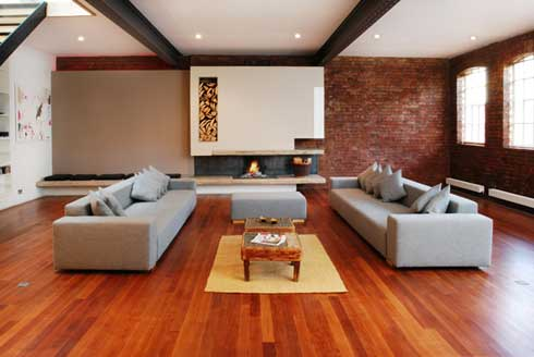 Modern Living Room Design Ideas 2012