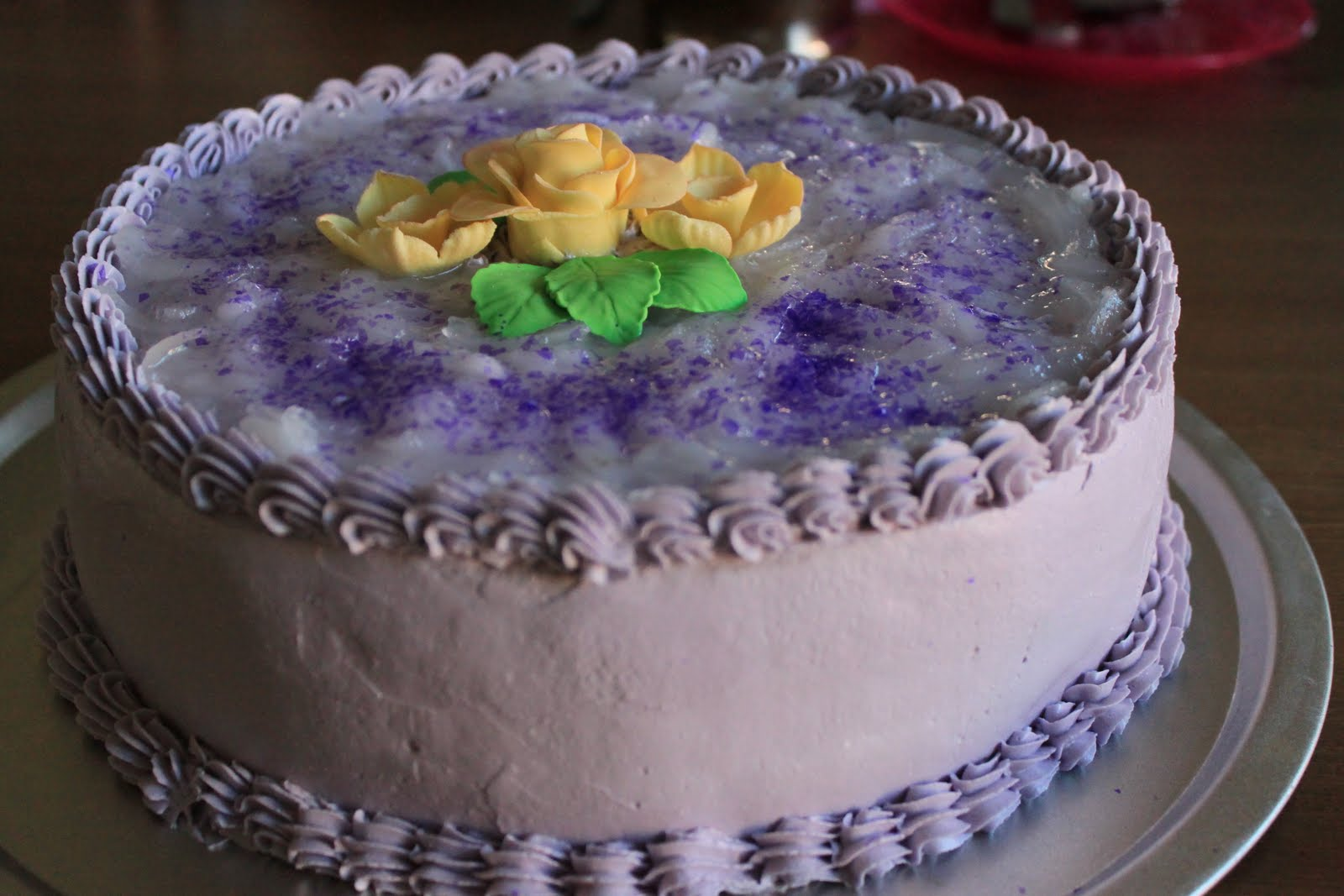 how to cook purple yam for cakes