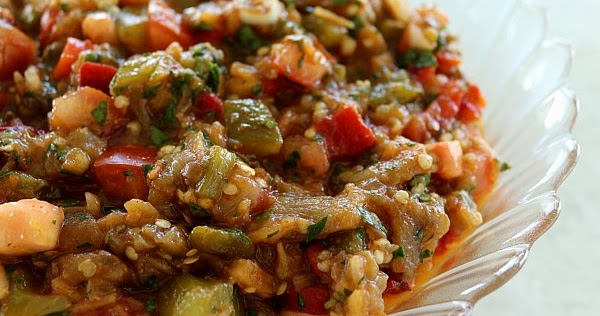 Mission: Food: Creative Cooking Crew: Armenian Grilled Vegetable Salad