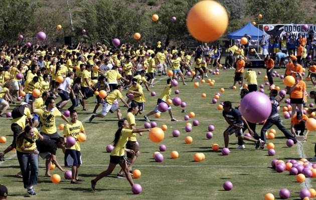 Largest Dodgeball Game