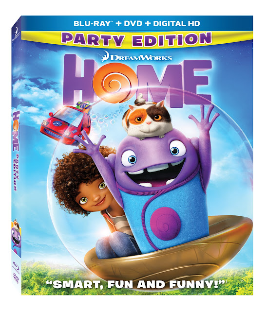 Dreamworks HOME, OH, Boove, family movies, movie night