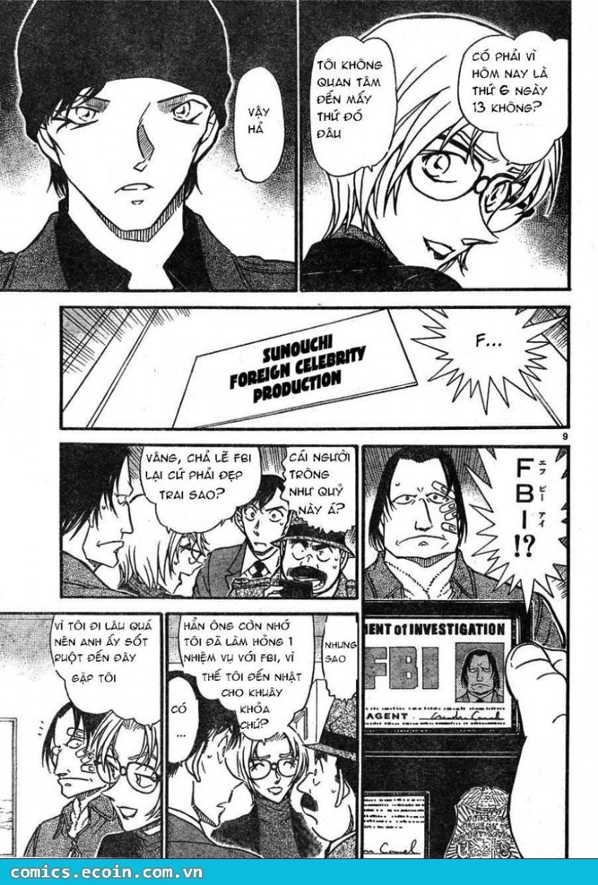 Detective Conan - Thám Tử Lừng Danh Conan chap 606 page 9 - IZTruyenTranh.com