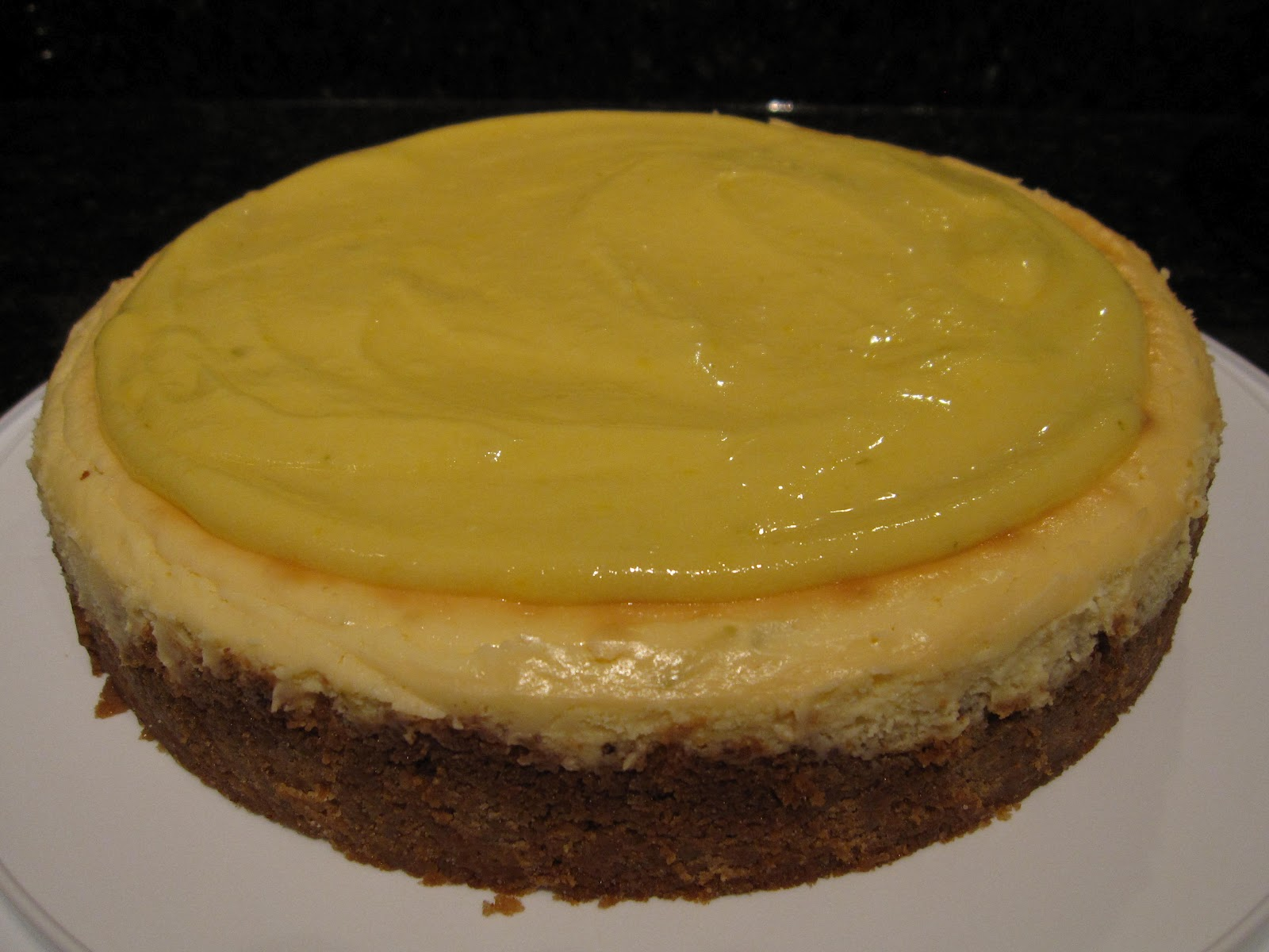 HANNAH IN THE KITCHEN: Key Lime Cheesecake
