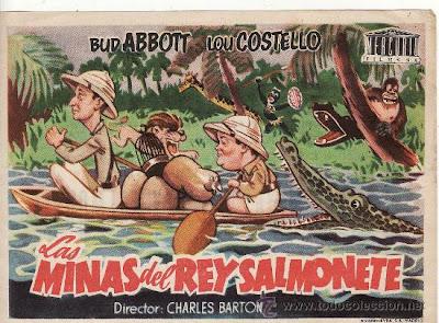 Las minas del rey Salmonete (1949) | Cartel de la película, imagen