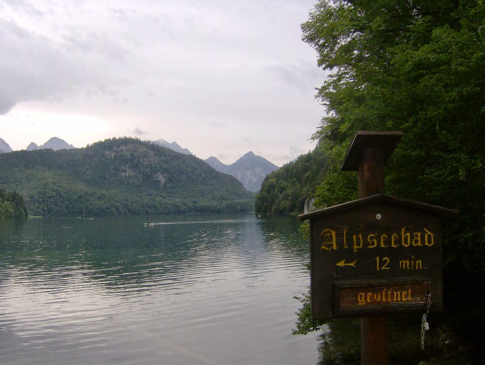 Lagos en los Alpes