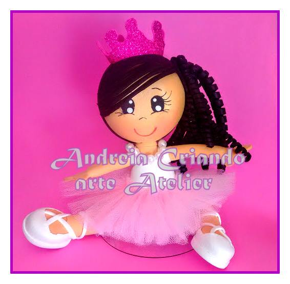 boneca fofucha bailarina