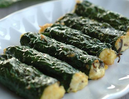 Cách làm đậu hủ cuốn lá lốt - Món chay ngon lạ miệng