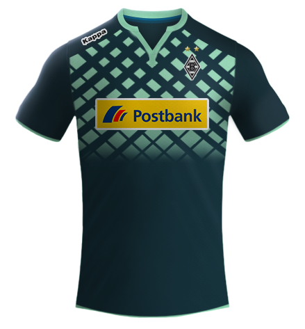 Borussia Mönchengladbach - Kappa 2015 16  bed47b36f036b