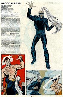 Grito Sangriento (ficha marvel comics)