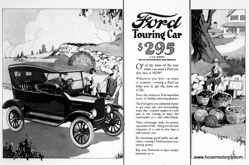 Hover motor company history of the model t ford the car for Ford motor company history
