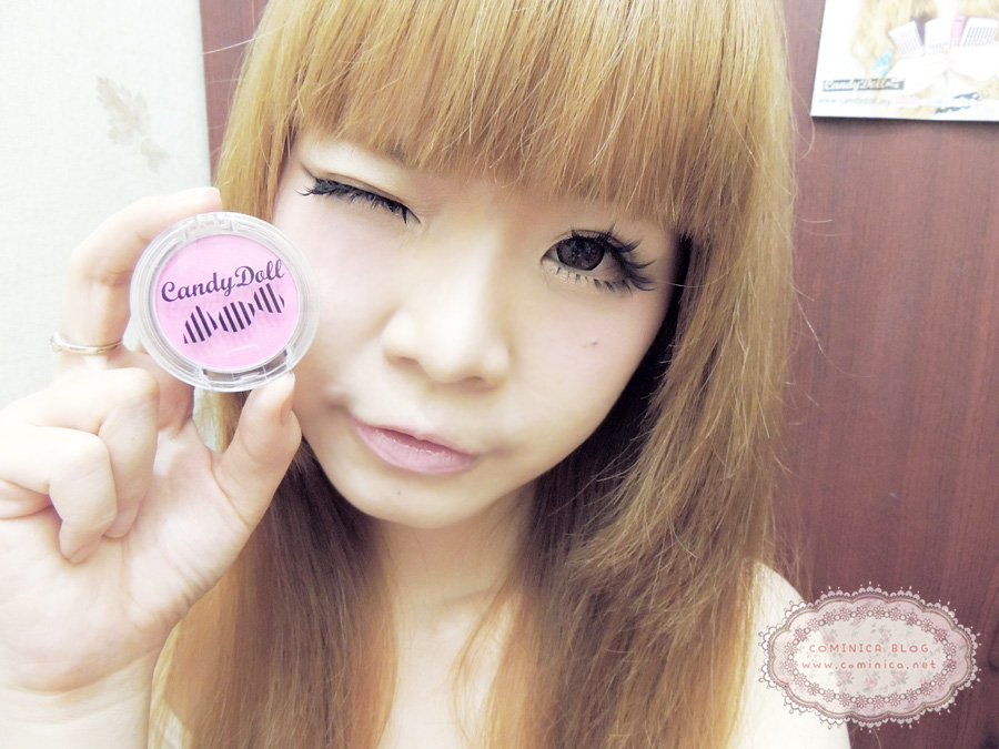 Cominica Blog ♔: Candy Doll Cheek Color Swatch and Review