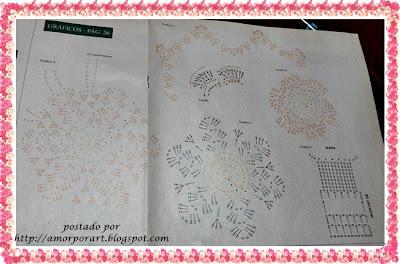 Jogo de Banheiro com flor e gráfico
