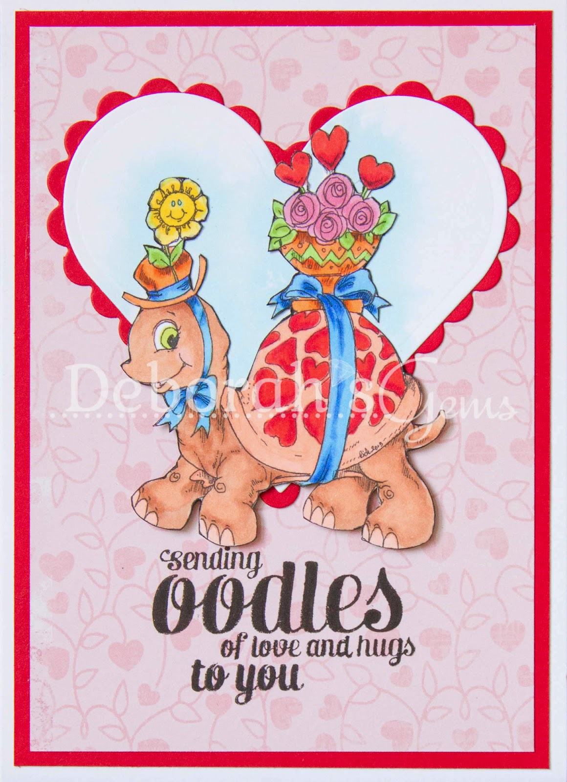 Oodles of love - photo by Deborah Frings - Deborah's Gems