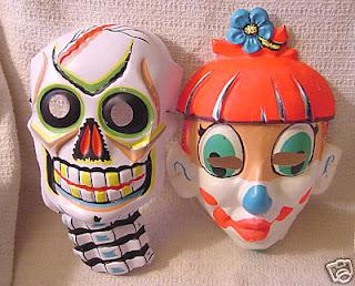 máscara de payasos