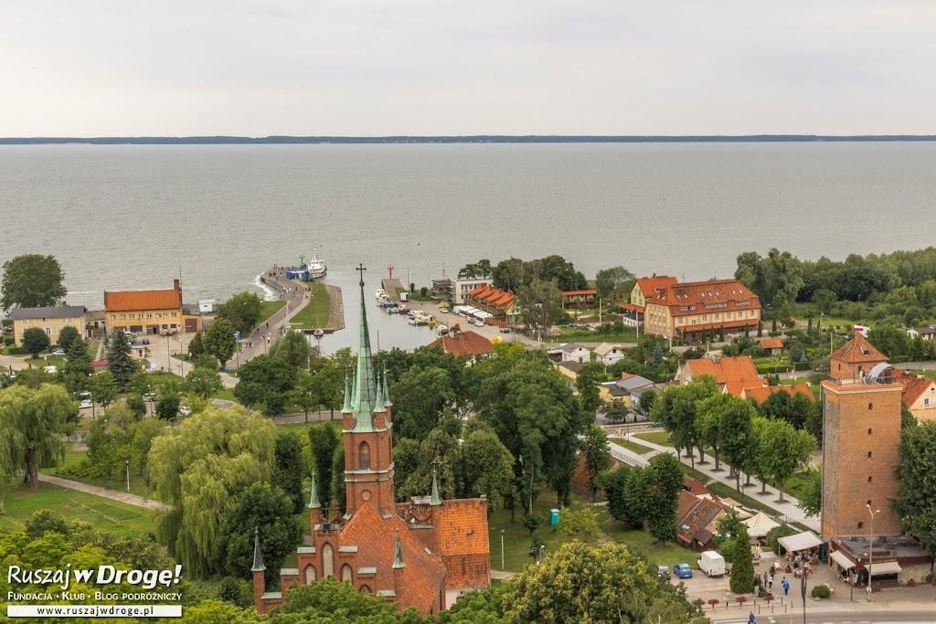 Widok z Wieży Radziejowskiego we Fromborku