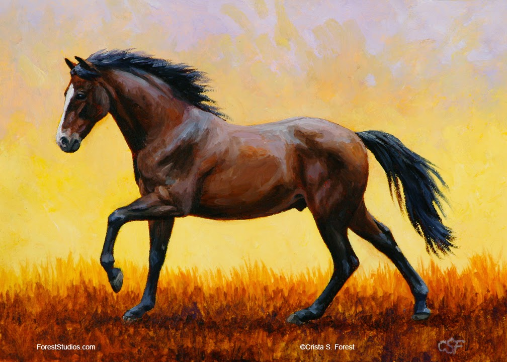 Crista Forest's Animals & Art: How To Draw Animals - Horse ... - photo#30