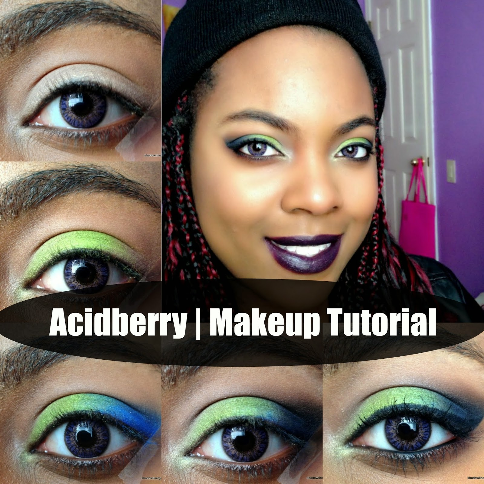 Acid Berry Makeup Tutorial