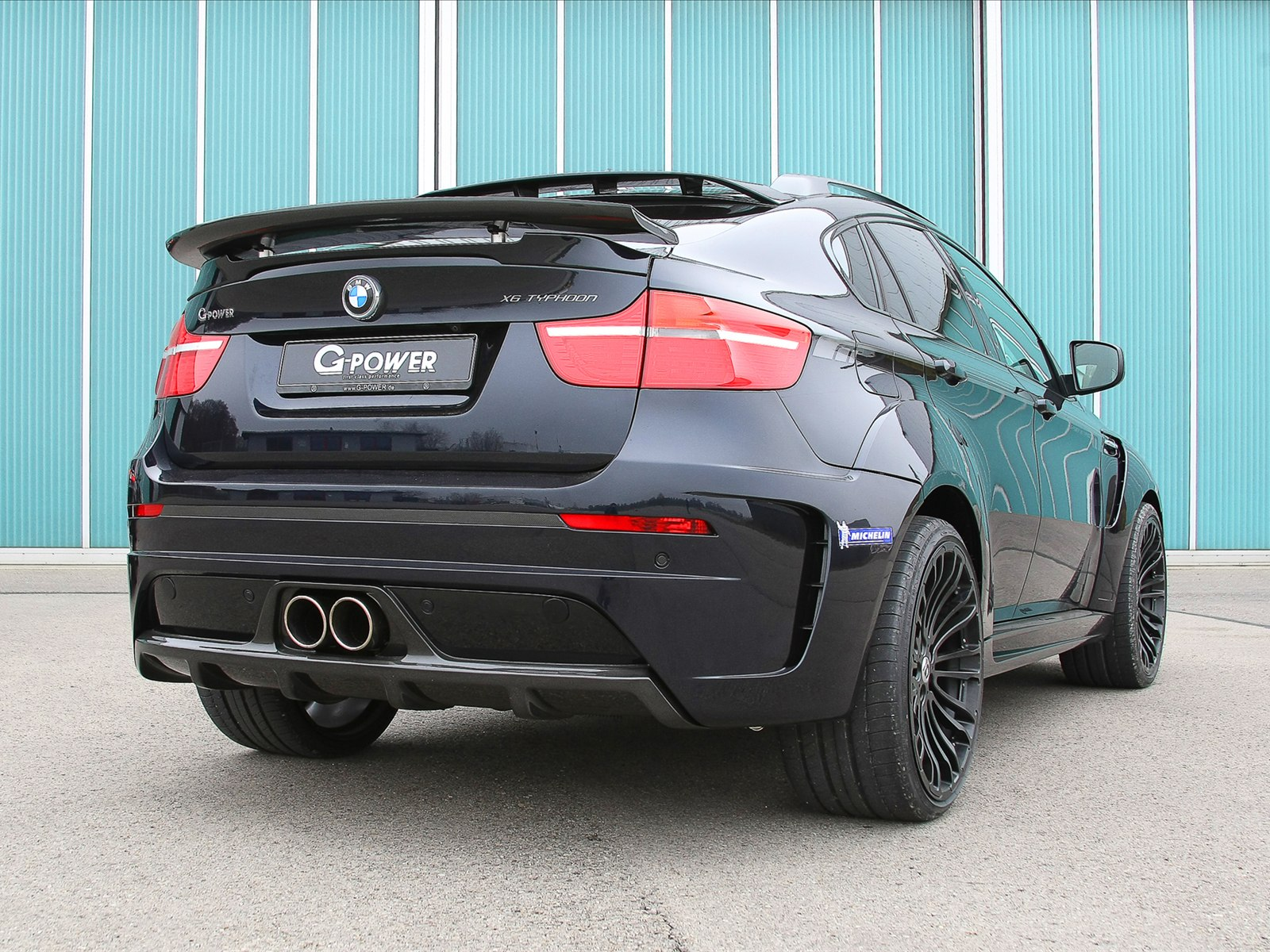 The G POWER X6 M TYPHOON Wide Body Kit Is Produced In OEM Quality And Features Muscular Flared Wheel Arches Plus Distinctive Skirts Spoilers On