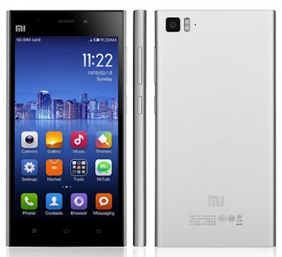 Spesifikasi dan Harga Xiaomi Mi3
