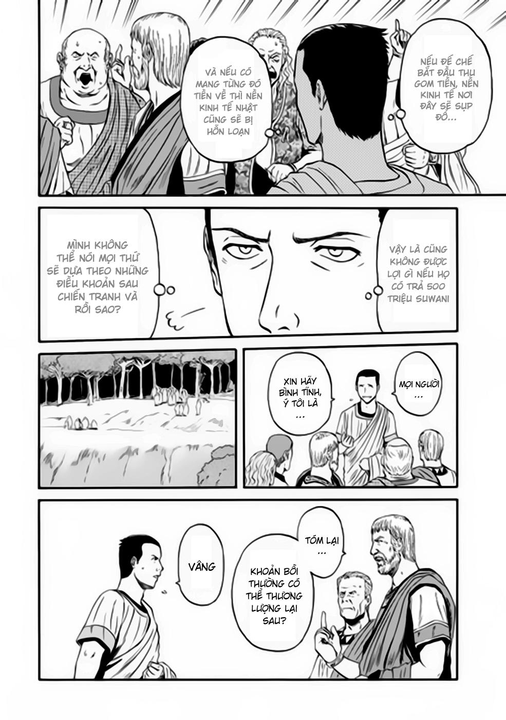 Gate – Jietai Kare no Chi nite, Kaku Tatakeri chap 31 Trang 6 - Mangak.info