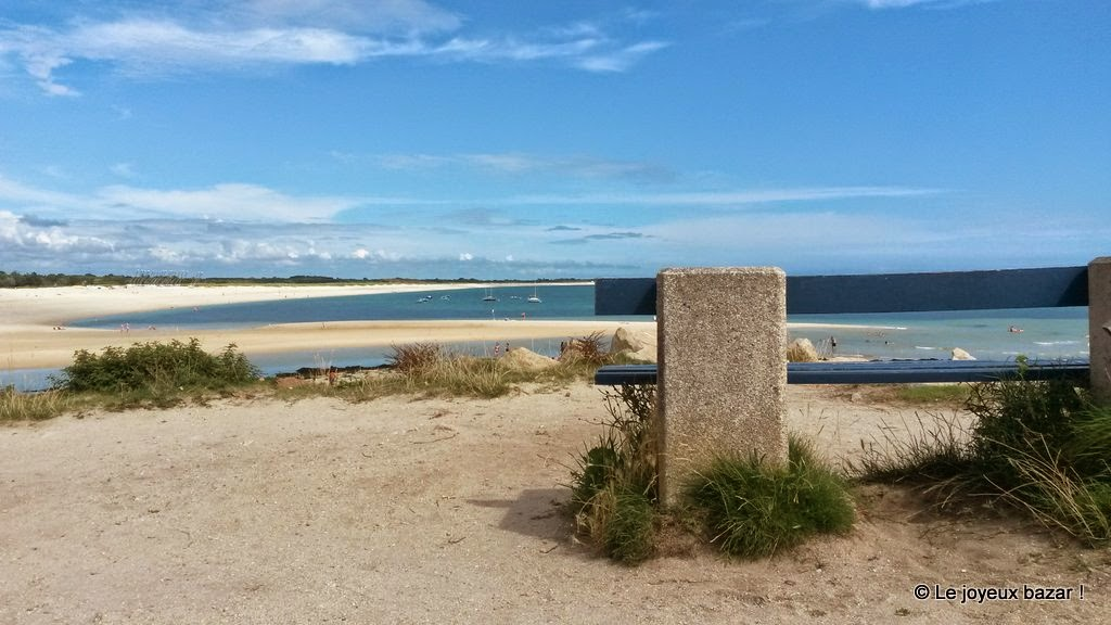 Bretagne - Bénodet - mer blanche